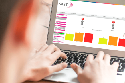 SAST SUITE Software-Tool mit SAP-Security Dashboard
