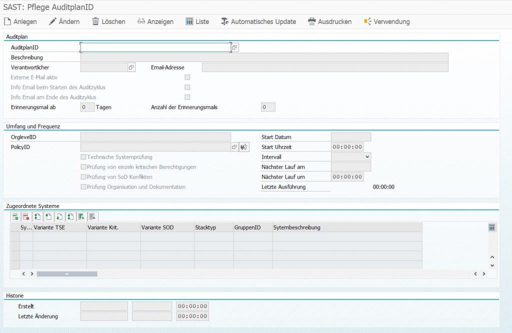 SAST Blog: Wie Sie mit dem SAST Risk and Compliance Management Ihr SAP-Systemaudit planen und ausführen